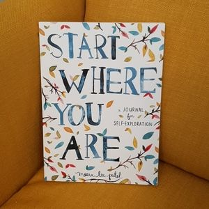 Start Where You Are Journal (New)